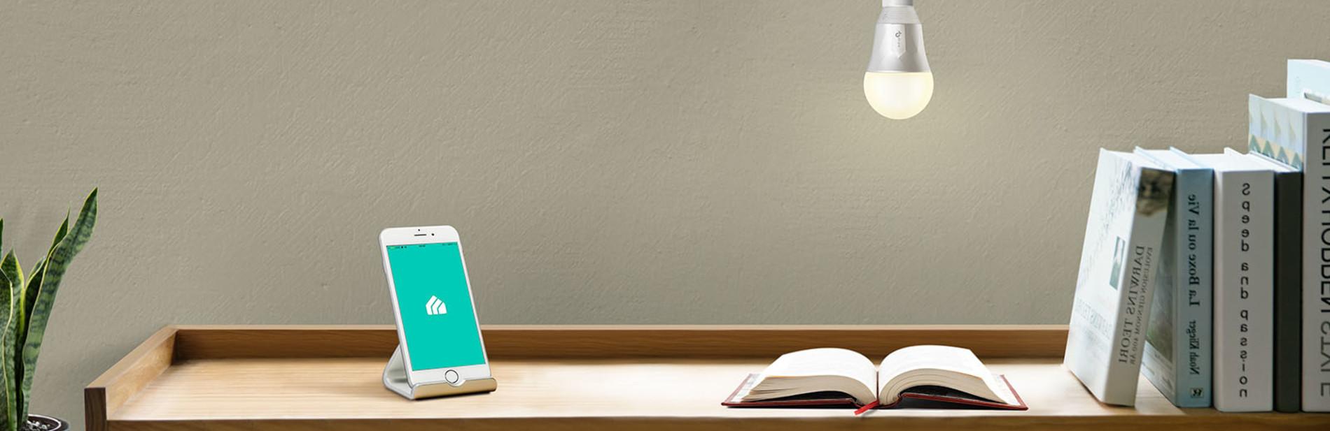 Kasa Smart Wi-Fi LED Light Bulb, White | Kasa Smart