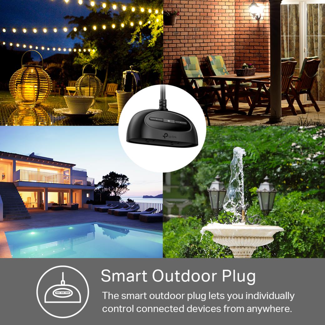 Kasa Smart Wi-Fi Outdoor Plug Smart Outdoor Plug