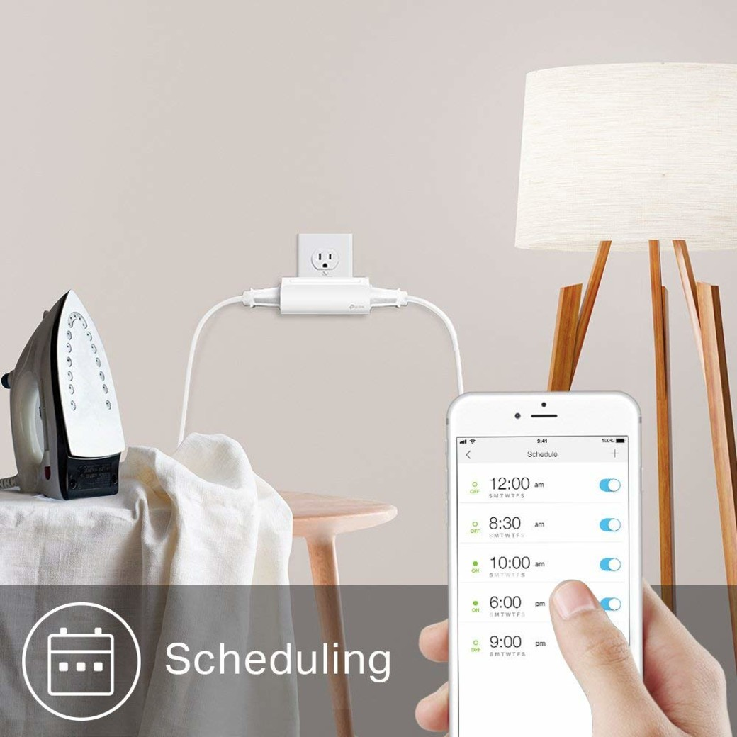 Kasa Smart Wi-Fi Plug, 2-Outlets-gallery-image