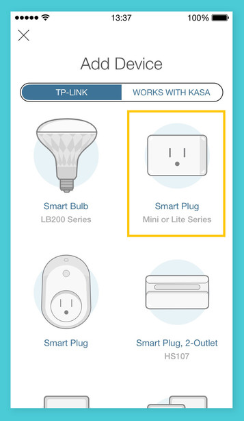 Step 1: Download the Kasa Smart app. Follow the instructions to connect your Kasa Smart plug.