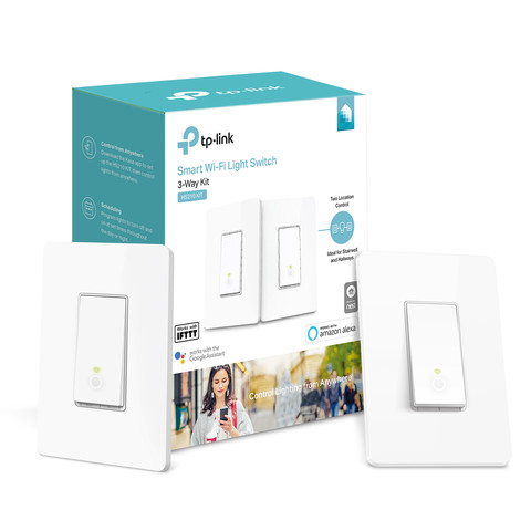 Kasa Smart Wi-Fi Light Switch, 3-Way Kit | Kasa Smart