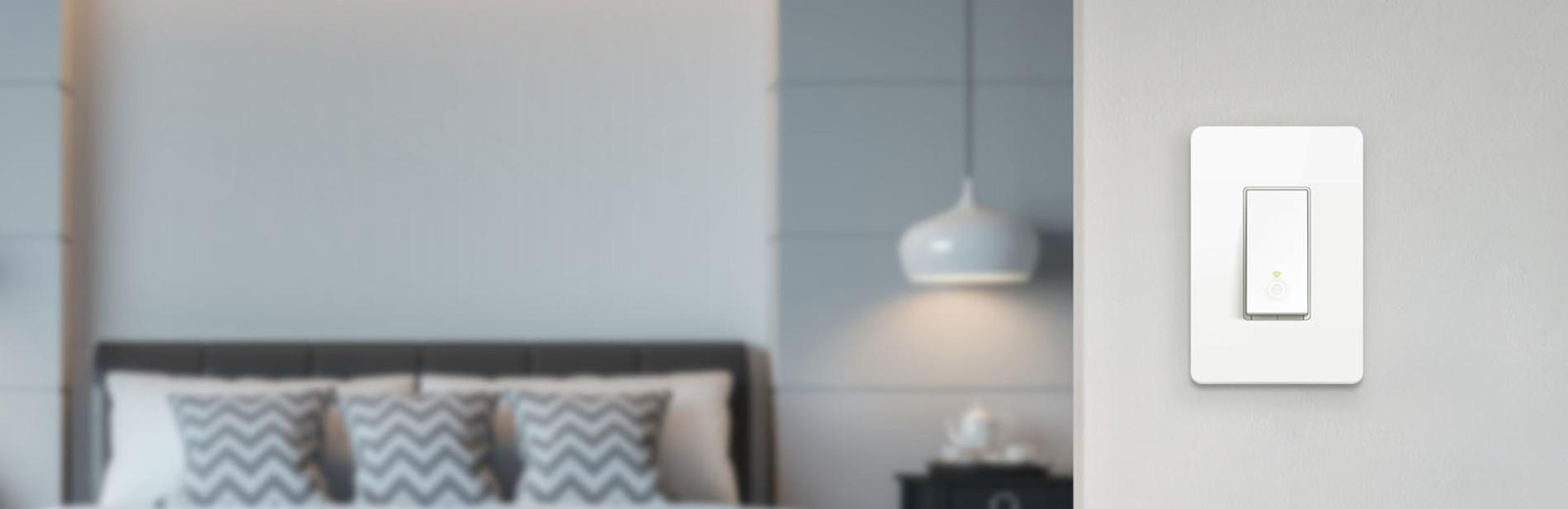 Kasa Smart Wi-Fi Light Switch Product Banner