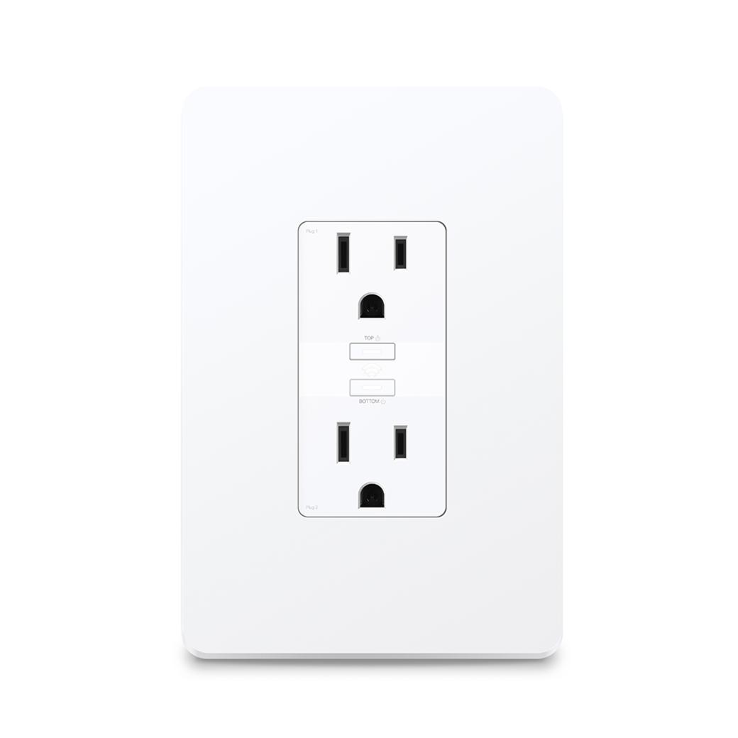 Kasa Smart Wi-Fi Power Outlet, 2-Sockets-gallery image