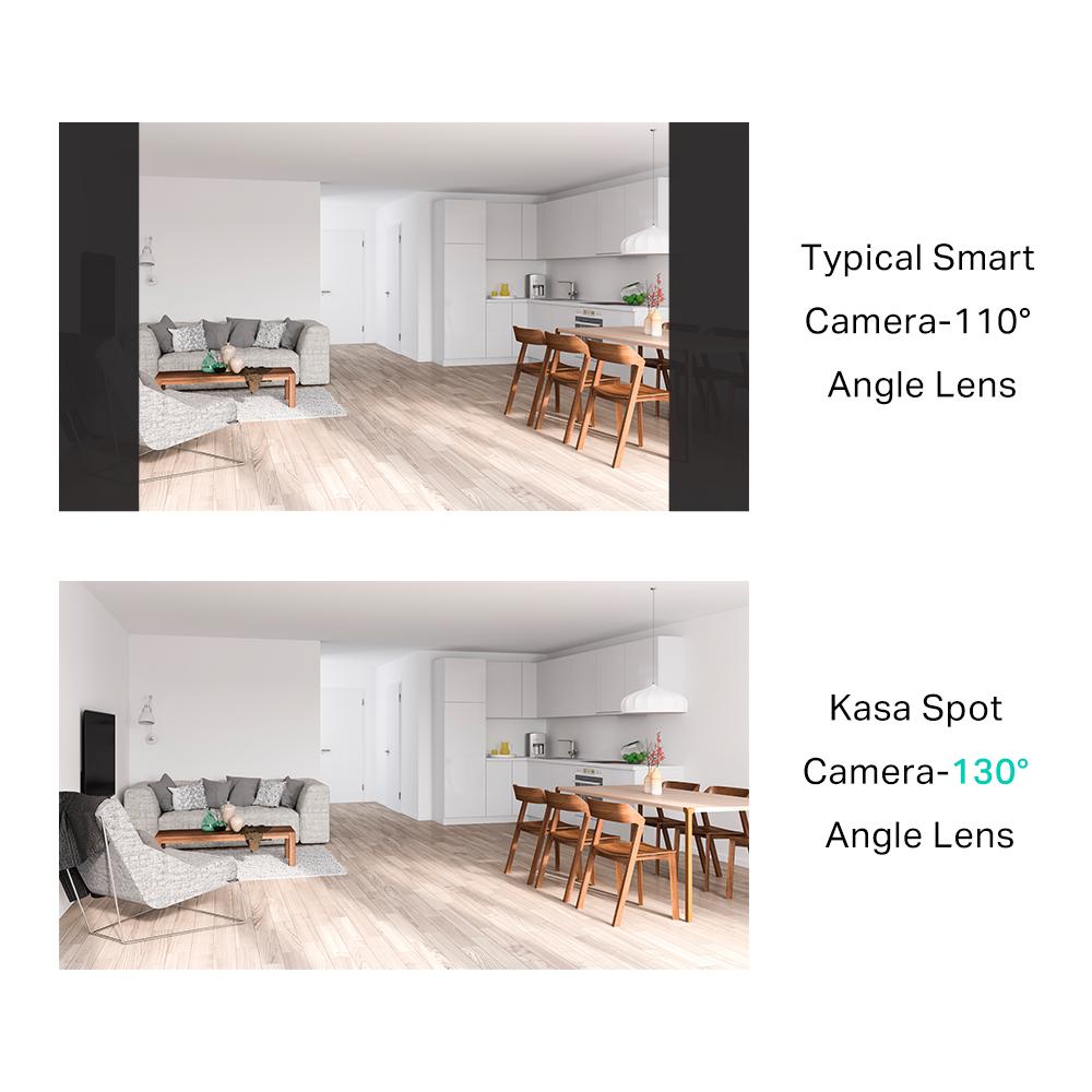 Kasa Spot Spotlight angle lens