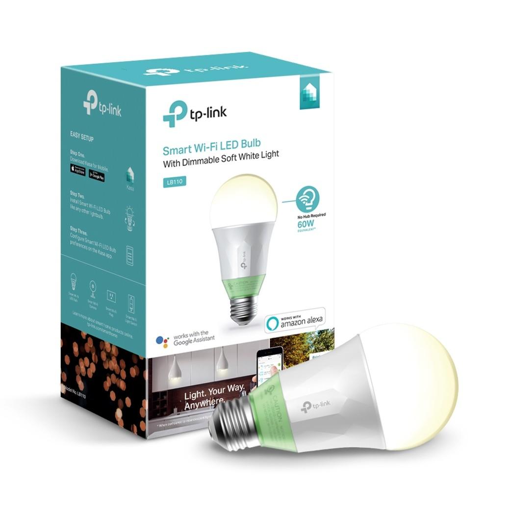 Kasa Smart Wi-Fi LED Light Bulb, White-gallery-image