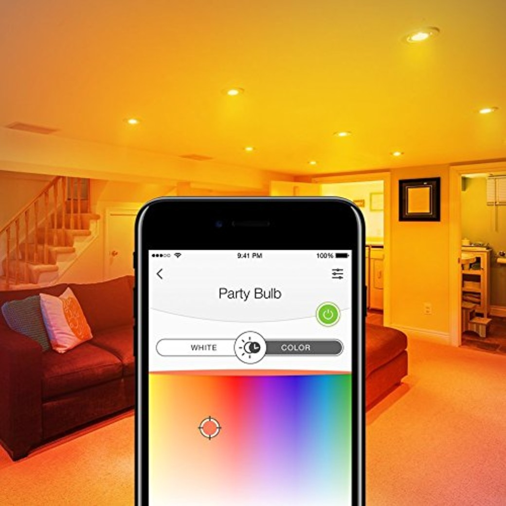 Kasa Smart Wi-Fi LED Light Bulb, Multicolor-gallery image