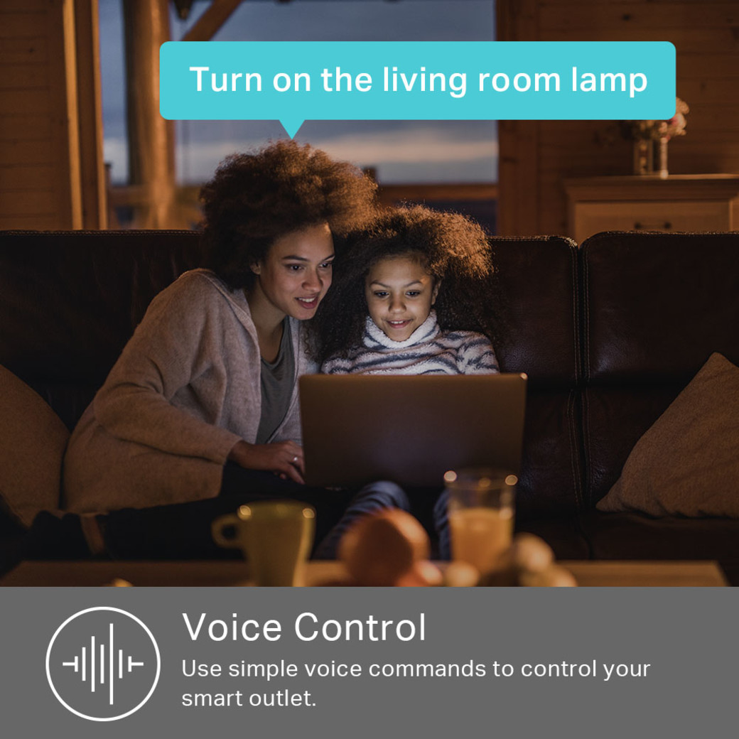 Kasa Smart Wi-Fi Power Outlet Voice Control
