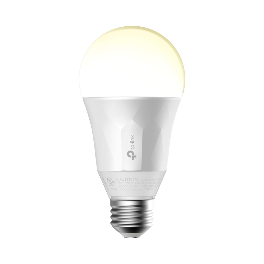 Kasa Smart Wi-Fi LED Light Bulb, White-gallery image