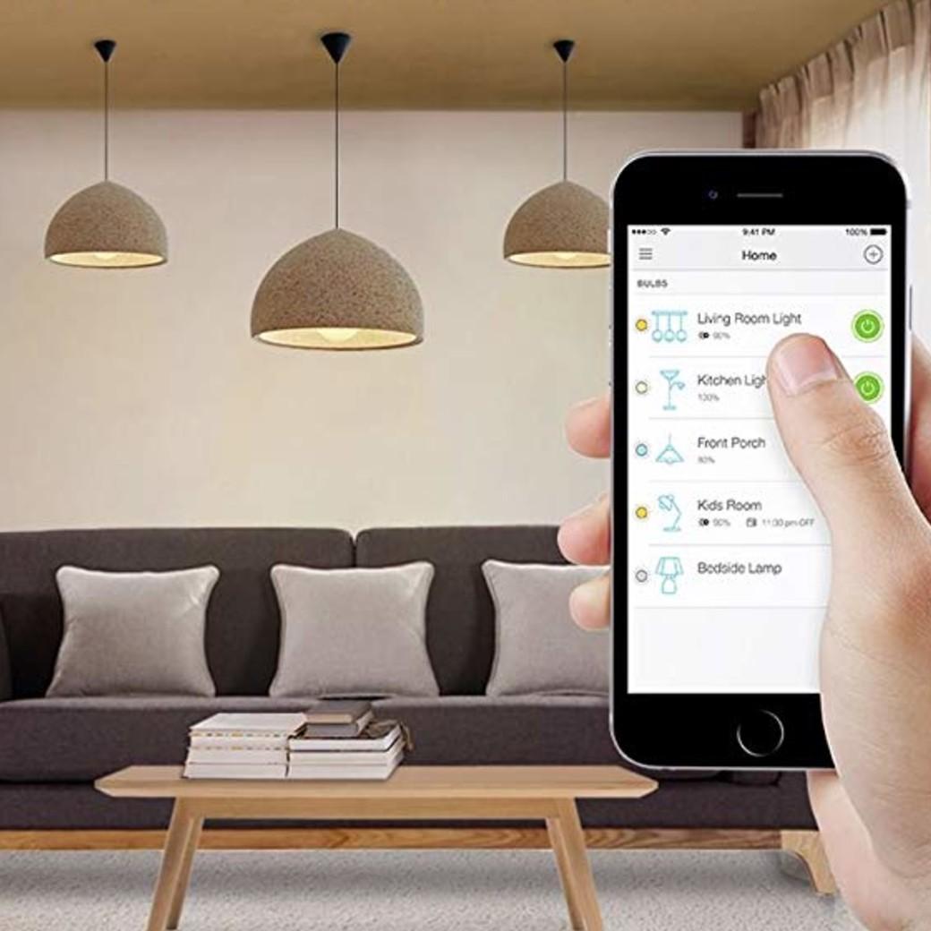 Smart Wi Light Fi Led BulbWhite Kasa EDHIW29